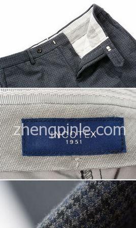 意大利奢侈服装品牌Incotex裤型及面料