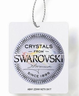 施华洛世奇Swarovski水晶防伪标签吊牌
