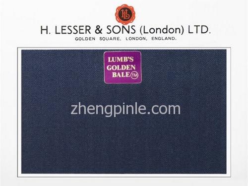 伦敦面料公司H Lesser的一款蓝色布料