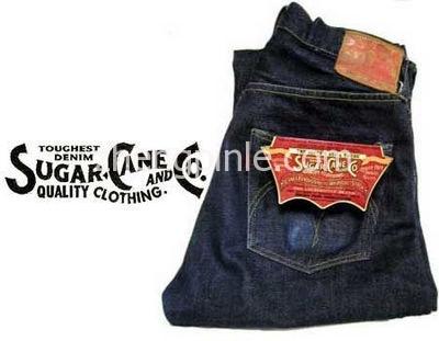Sugar Cane牛仔裤