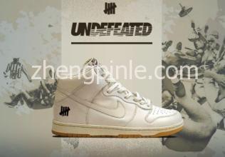 Undefeated与NIKE合作推出的潮鞋经典款