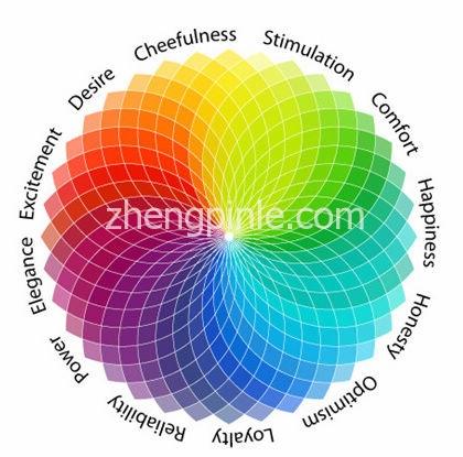 不同颜色搭配带来的心理效应