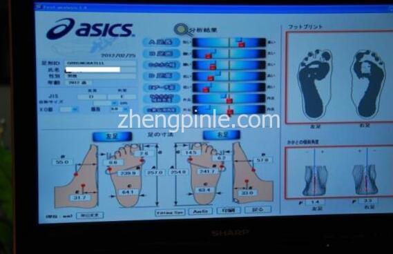 ASICS亚瑟士研发不同的鞋楦模板