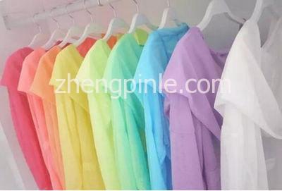 不同颜色的衣服防晒效果不同