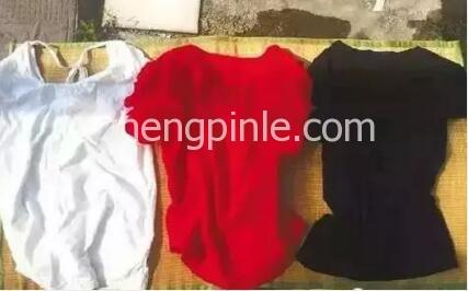 不同颜色衣服的温度对比 (2)