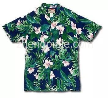 美国本土产的Aloha衫