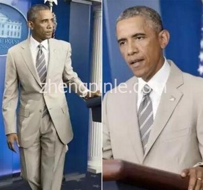 """奥巴马的""""西装门""""事件"""