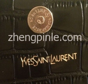 Fake-Saint-Laurent-Croc-Embossed-Monogram-Shoulder-Bag-Inside-Logo