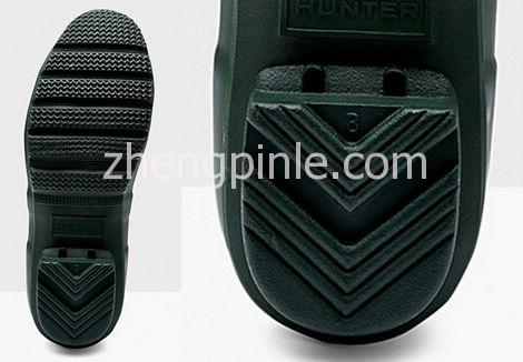 Hunter雨靴鞋底细节
