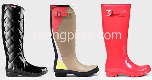 Hunter雨靴颜色及款式