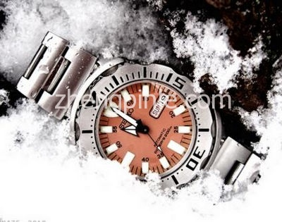 SEIKO ORANGE MONSTER橙色怪物表