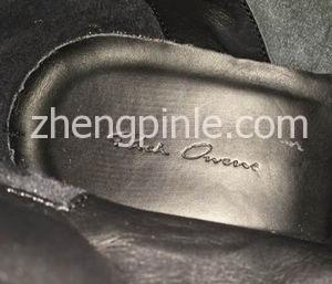 rick owens鞋垫细节