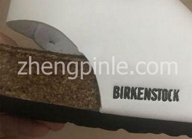 假Birkenstock博肯鞋侧面细节