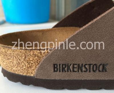 正品Birkenstock博肯鞋侧面细节