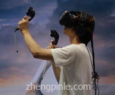 HTC Vive的VR眼镜