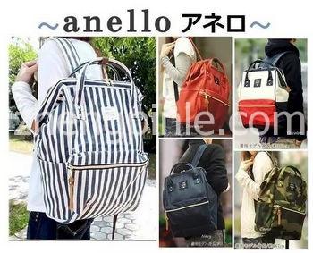 日本Anello双肩背包真假辨别教程