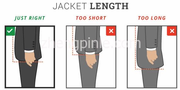 西服的衣长是否合适