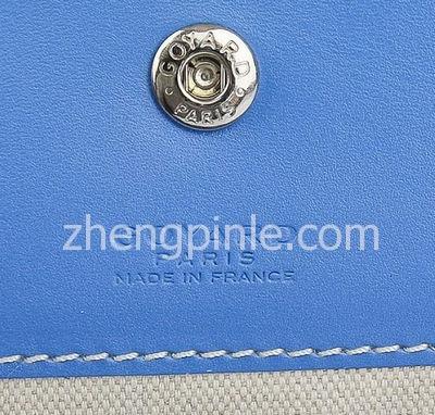 真Goyard Pouch包的品牌印记