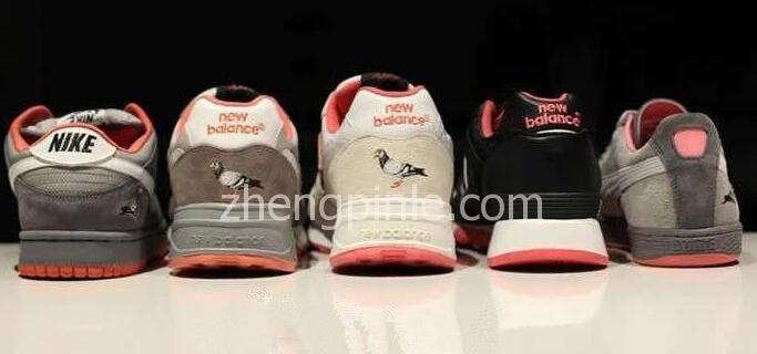 STAPLE纽约鸽与几大潮鞋品牌推出的联名款