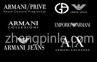 armani阿玛尼的众多副线品牌