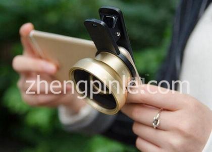 大口径超广角微距单反级手机镜头