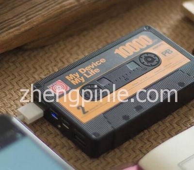 Remax·复古磁带移动电源