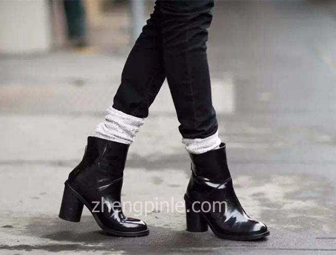 [Girl] 秋冬季什么鞋显腿长之短靴篇