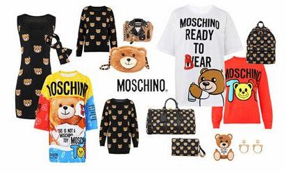 莫斯奇诺Moschino小熊系列真假辨别教程