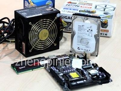台式PC电脑主机的核心硬件