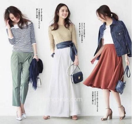 日系风女装搭配教程